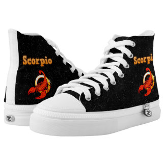 Scorpio illustration high tops