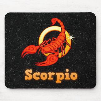 Scorpio illustration mouse pad