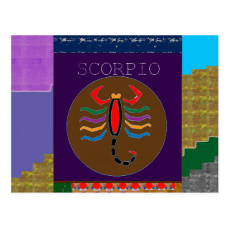 SCORPIO Insect Bite Wild Pet GREETINGS GIFTS CUTE Postcard