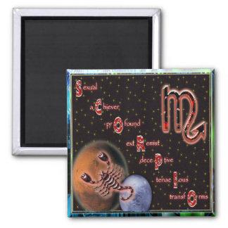 Scorpio Magnet+gifts Square Magnet