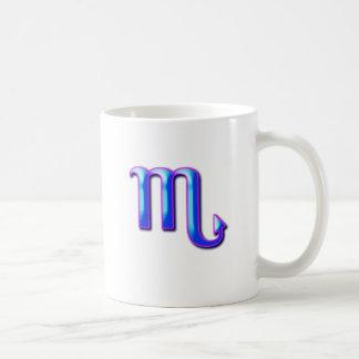 Scorpio Basic White Mug