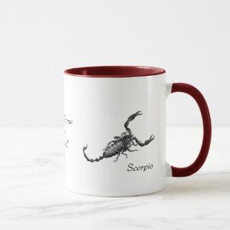 Scorpio Mug with Saying