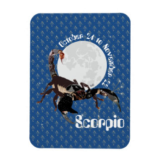 Scorpio Oct. 24 tons of Nov. 22 Premium Flexi magn Rectangular Photo Magnet