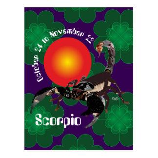 Scorpio October 24 tons November 22 Postcards
