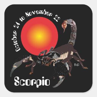 Scorpio October 24 tons November 22 Sticker