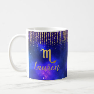 Scorpio Personalized Coffee Mug