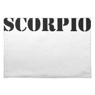 scorpio place mats
