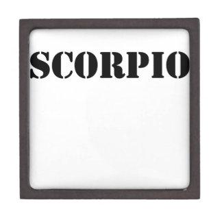 scorpio premium trinket boxes