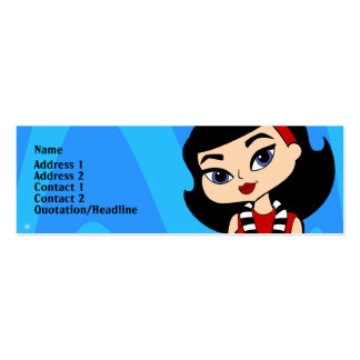 Scorpio Profile Card Pack Of Skinny Business Cards