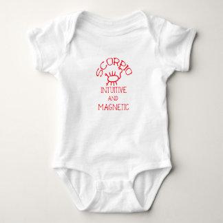 Scorpio (Red Text) Baby Bodysuit