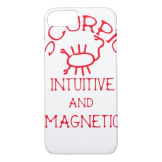 Scorpio (Red Text) iPhone 8/7 Case