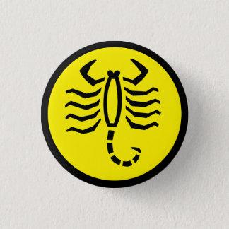Scorpio Scorpion Horoscope Sign Zodiac Button