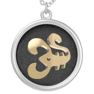 Scorpio, Scorpione Round Pendant Necklace