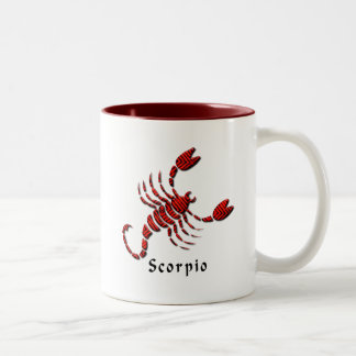 Scorpio Sign Coffee Mug