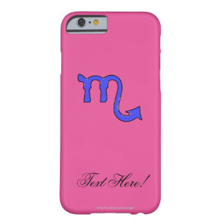 Scorpio symbol barely there iPhone 6 case