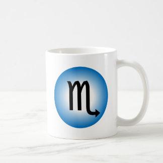 SCORPIO SYMBOL COFFEE MUG