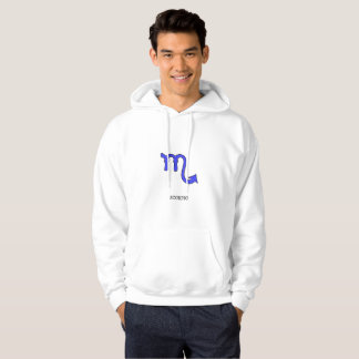 Scorpio symbol hoodie
