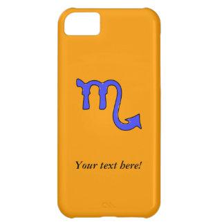 Scorpio symbol iPhone 5C case