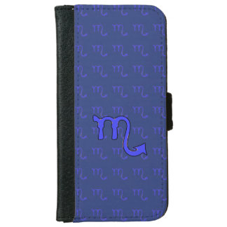 Scorpio symbol iPhone 6 wallet case