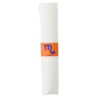 Scorpio symbol napkin band