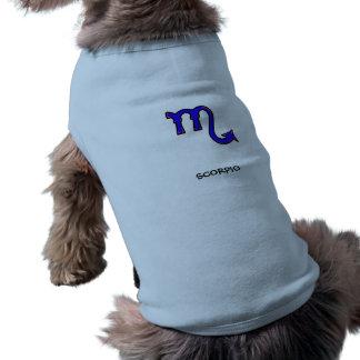 Scorpio symbol shirt
