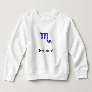 Scorpio symbol sweatshirt