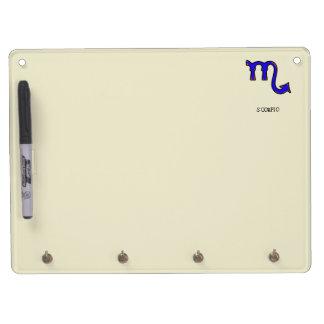Scorpio symbol t Dry-Erase board