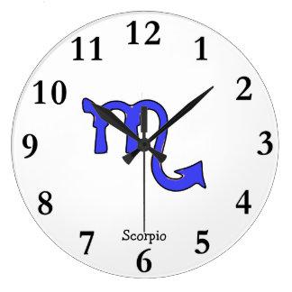 !Scorpio t Large Clock