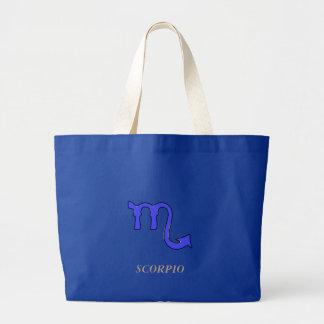 !Scorpio t Large Tote Bag
