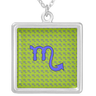!Scorpio t Silver Plated Necklace