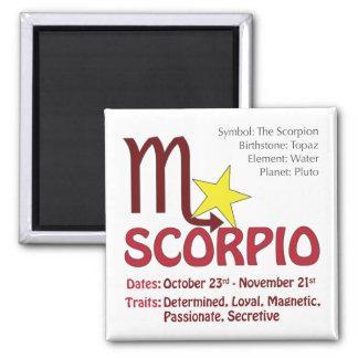 Scorpio Traits Magnet