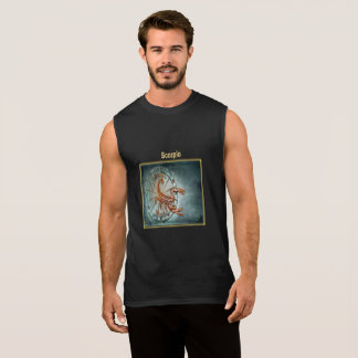 Scorpio Zodiac Astrology design Horoscope Sleeveless Shirt
