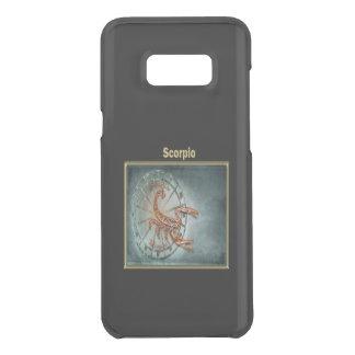 Scorpio Zodiac Astrology design Horoscope Uncommon Samsung Galaxy S8 Plus Case