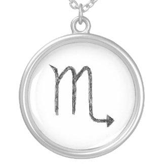 Scorpio. Zodiac Astrology Sign. Jewelry