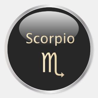 Scorpio zodiac astrology,  star sign stickers
