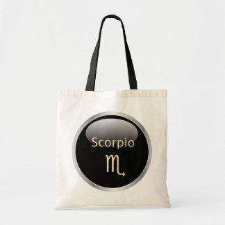 Scorpio zodiac astrology star sign tote bag