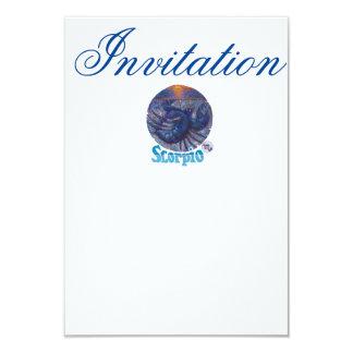 Scorpio - Zodiac Invitation
