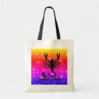 Scorpio Zodiac Modern Tote Bags