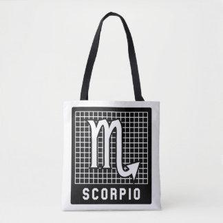 Scorpio Zodiac Sign Printed Tote Bag