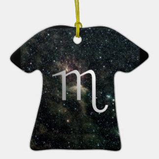 Scorpio Zodiac Star Sign Universe Birthday Christmas Ornament