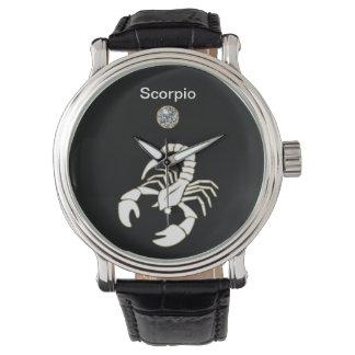 Scorpio Zodiac Wrist Watch