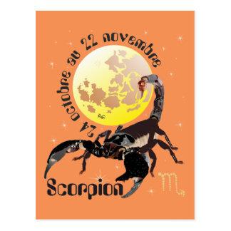 Scorpion 24 octobre outer 22 novembre Cartes of Postcard