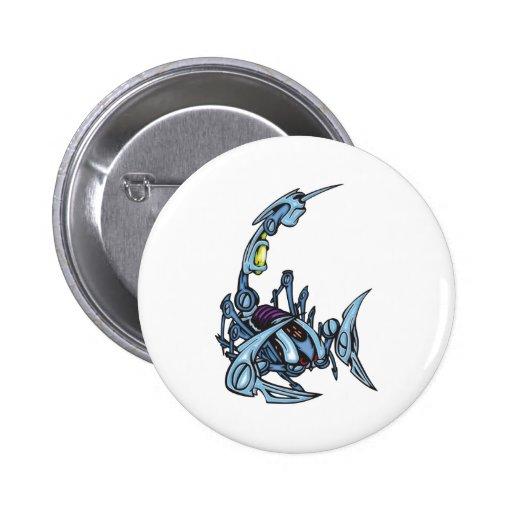 Scorpion Pinback Button