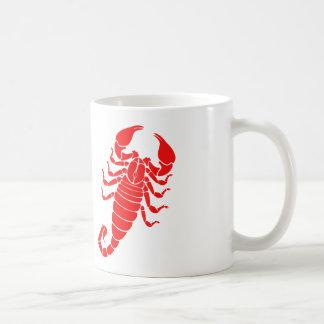 Scorpion Basic White Mug