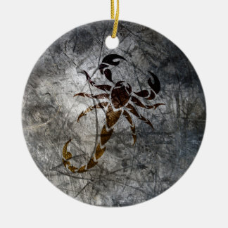 Scorpion Ceramic Ornament