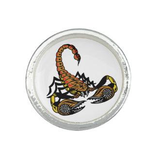 scorpion photo ring