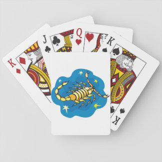 Scorpion Playing Cards