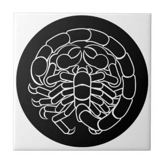 Scorpion Scorpio Zodiac Sign Ceramic Tile