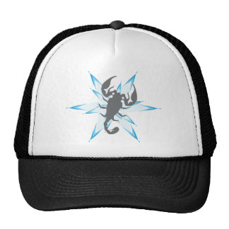 scorpion Star Trucker Hats