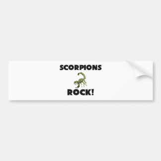Scorpions Rock Bumper Sticker